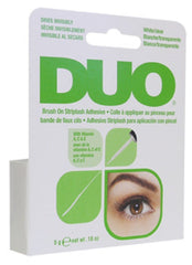Ardell DUO Brush On Striplash Eyelash Adhesive Glue White/Clear 0.25 oz - A56812