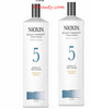 Nioxin System 5 Scalp Therapy Conditioner 33.8 oz (Pack of 2) Special!