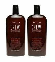 American Crew Power Cleanser Style Remover Shampoo, 33.8 Ounce (PACK OF 2)