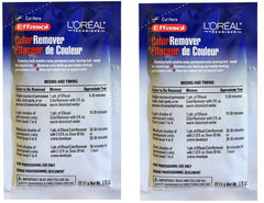 L'Oreal Effasol Color Remover 22.11 g 7/8 oz (pack of 2)