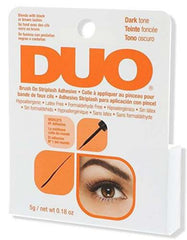 Ardell DUO Brush On Striplash Eyelash Adhesive Glue Dark 0.25 oz  -56896
