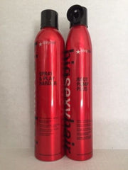 Sexy Hair Root Pump Plus Mousse and Spray and Play Harder 10oz Duo