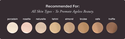 glo minerals liquid luxe foundation shades
