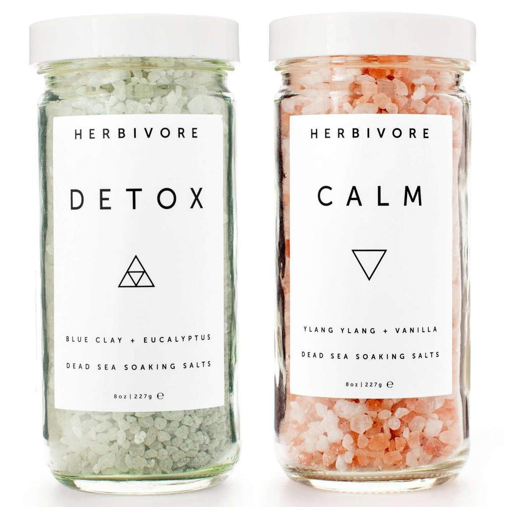 HERBIVORE  SOAKING SALTS SET