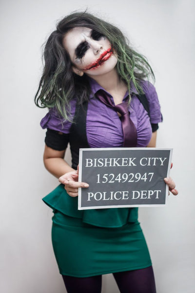 The Joker Women's Halloween Makeup