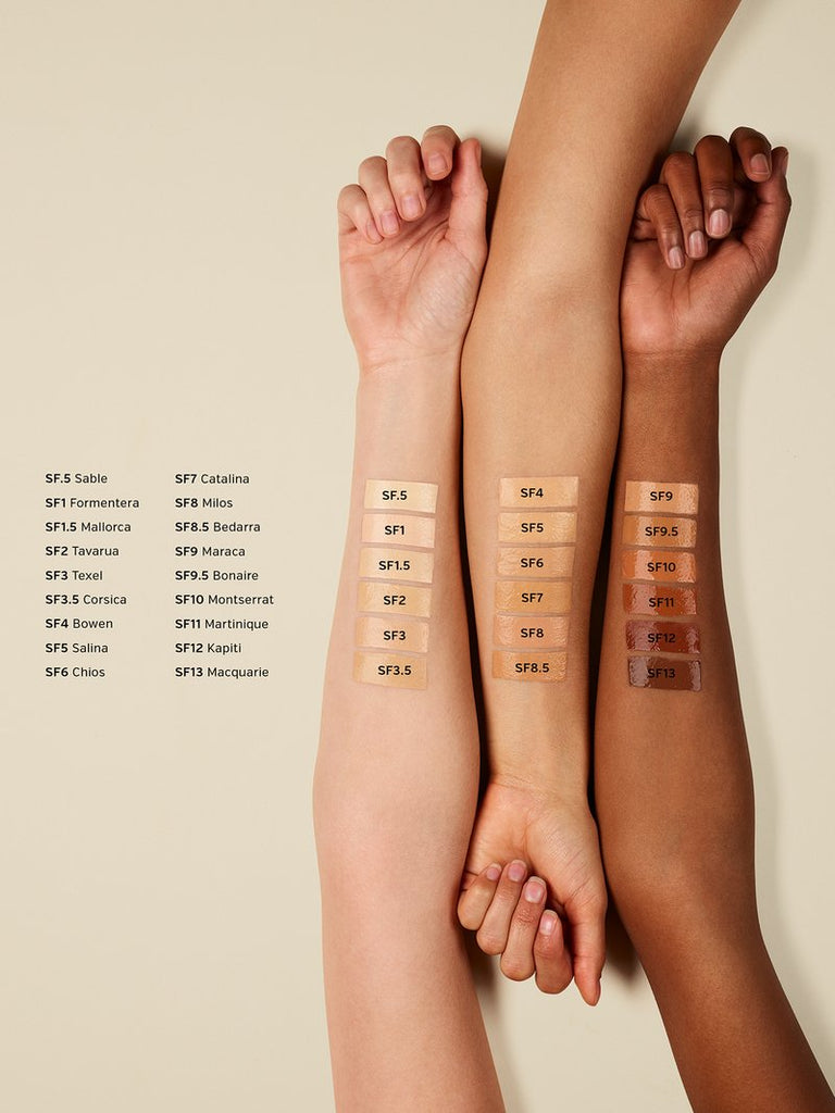 ilia true skin foundation swatches