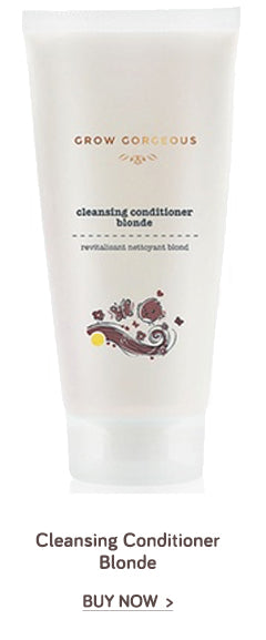 Grow Gorgeous Cleansing Conditioner Blonde