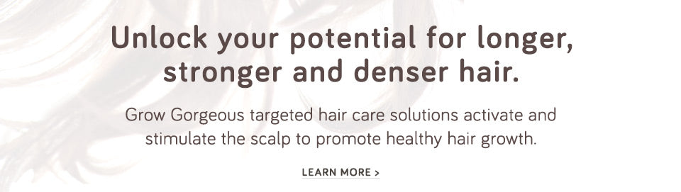 Unlock your potential for longer, stronger hair.