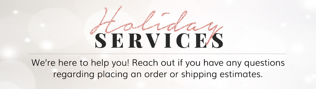 Socialite Beauty Holiday Services Shipping Deadlines