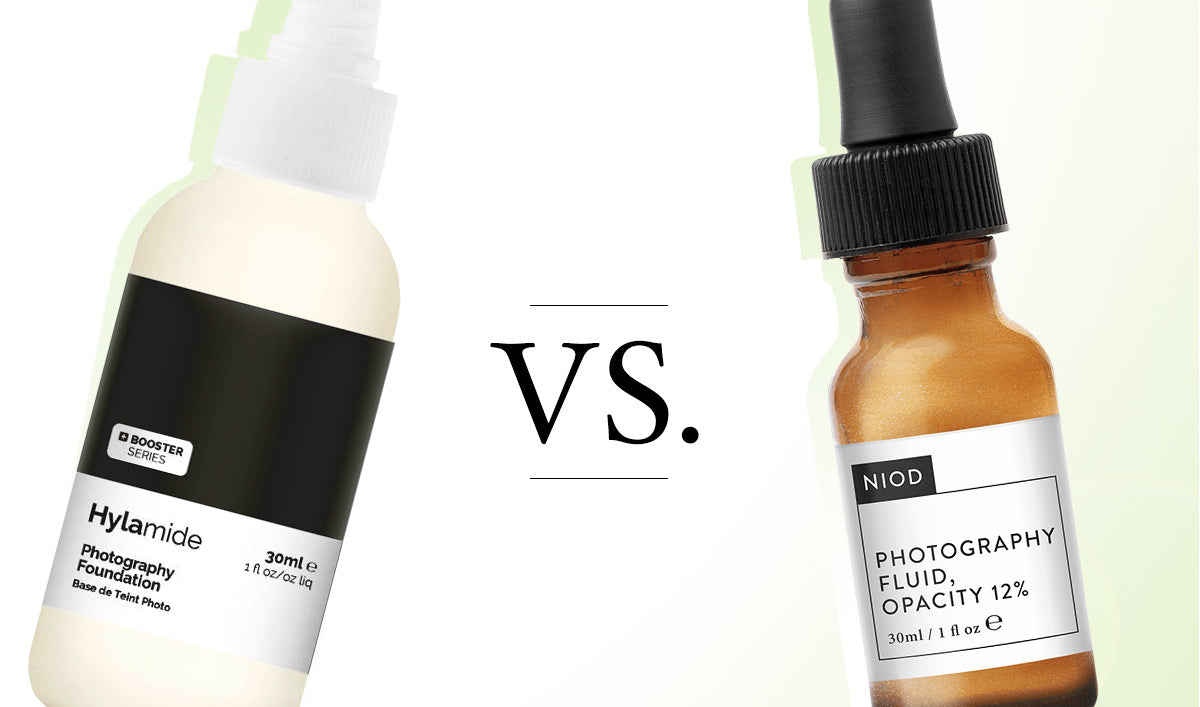 NIOD vs Hylamide Photography Fluid/Foundation