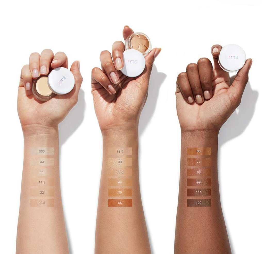 Rms beauty concealer un-cover up swatches