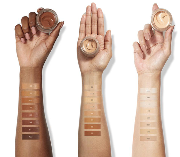 RMS Beauty Foundation Swatches
