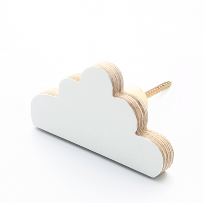 RAW TIMBER Cloud Wall Hook