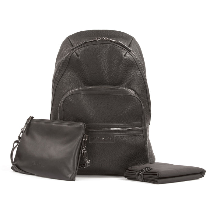 Elwood Backpack Black - NAPPY/DIAPER BAG