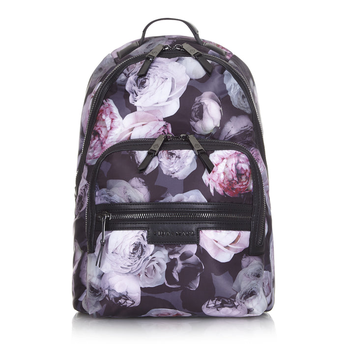Elwood Backpack Floral Nappy/Diaper Bag