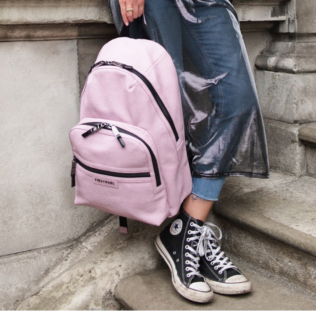 Elwood Backpack Pink - NAPPY/DIAPER BAG