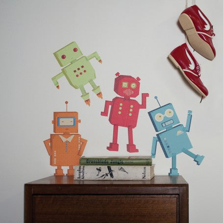 Robots Decal