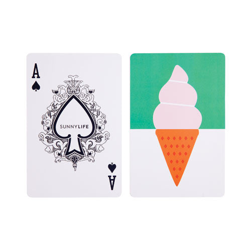 Ice Cream Playing Cards
