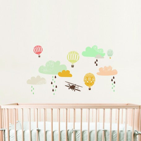 Up Up & Away Decal