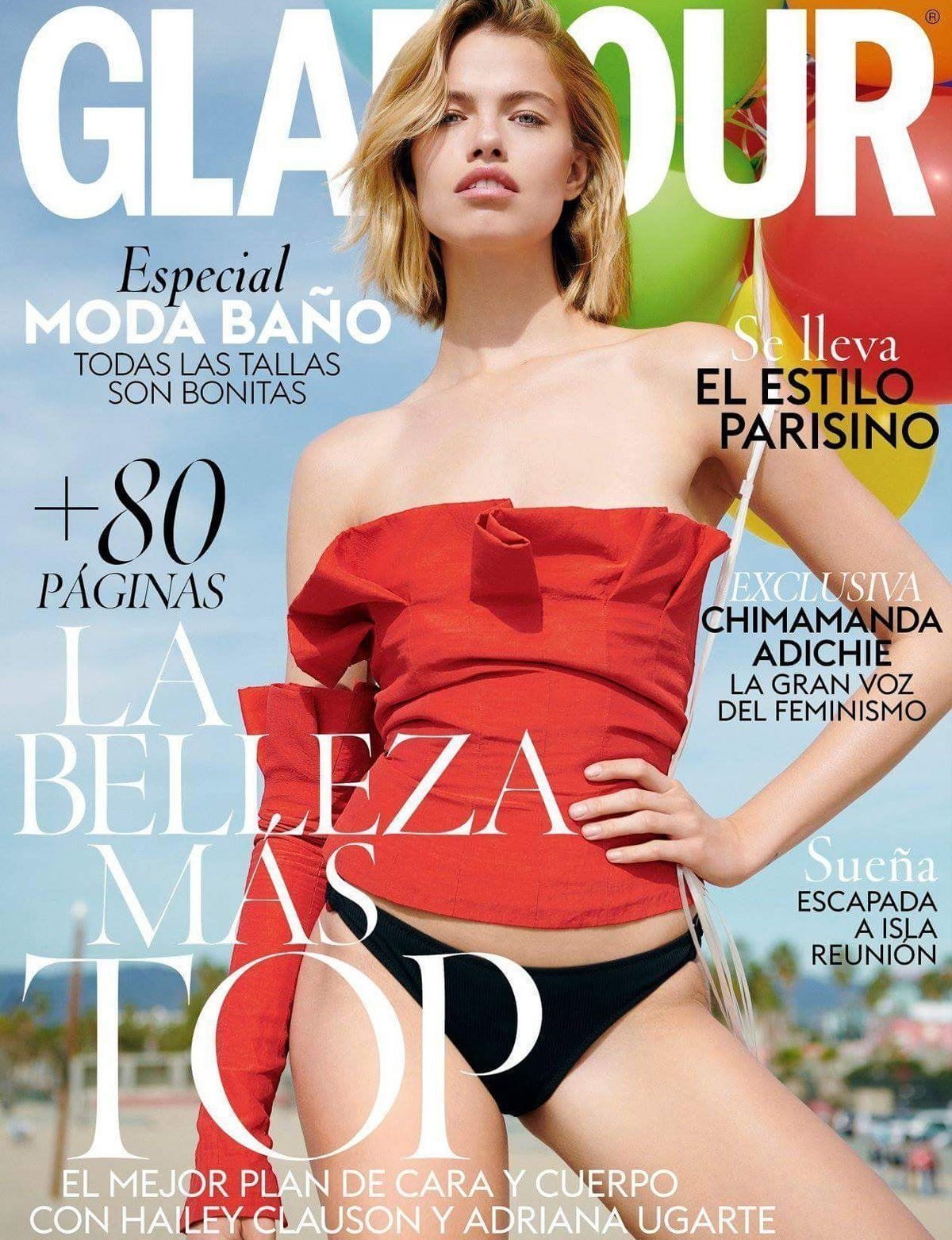 GLAMOUR SPAIN MAY 2018
