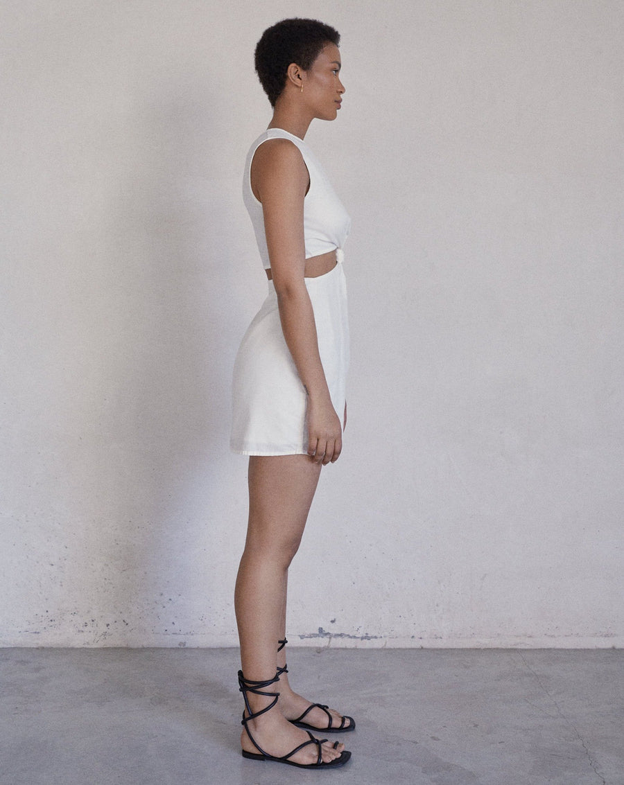 Dally Off White Dress