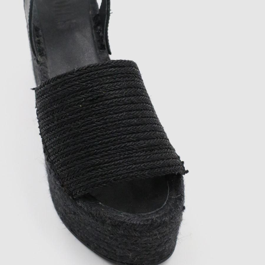 Ibizas XL Raffia Total Black