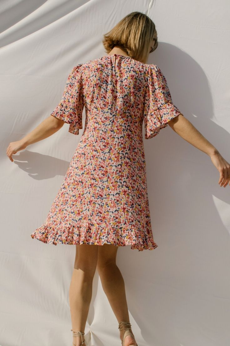 Marguerite Floral Dress
