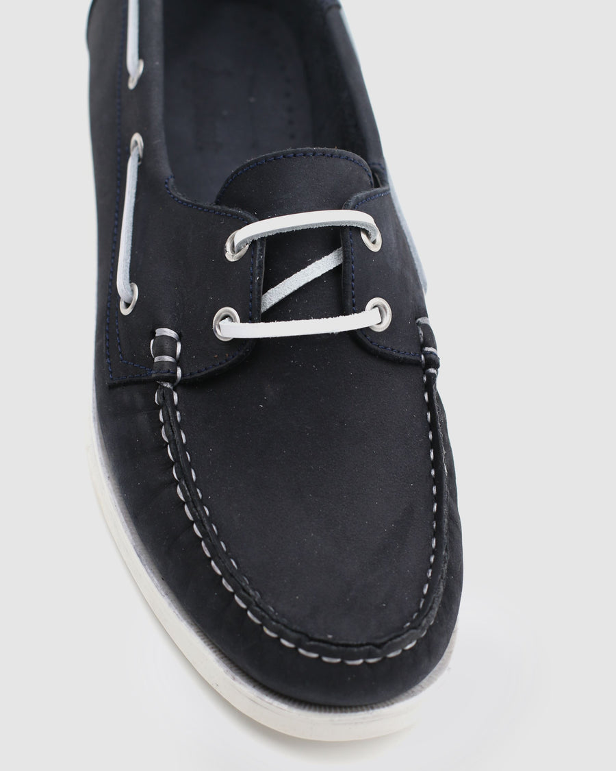 Menorca - Boat Shoes - Navy