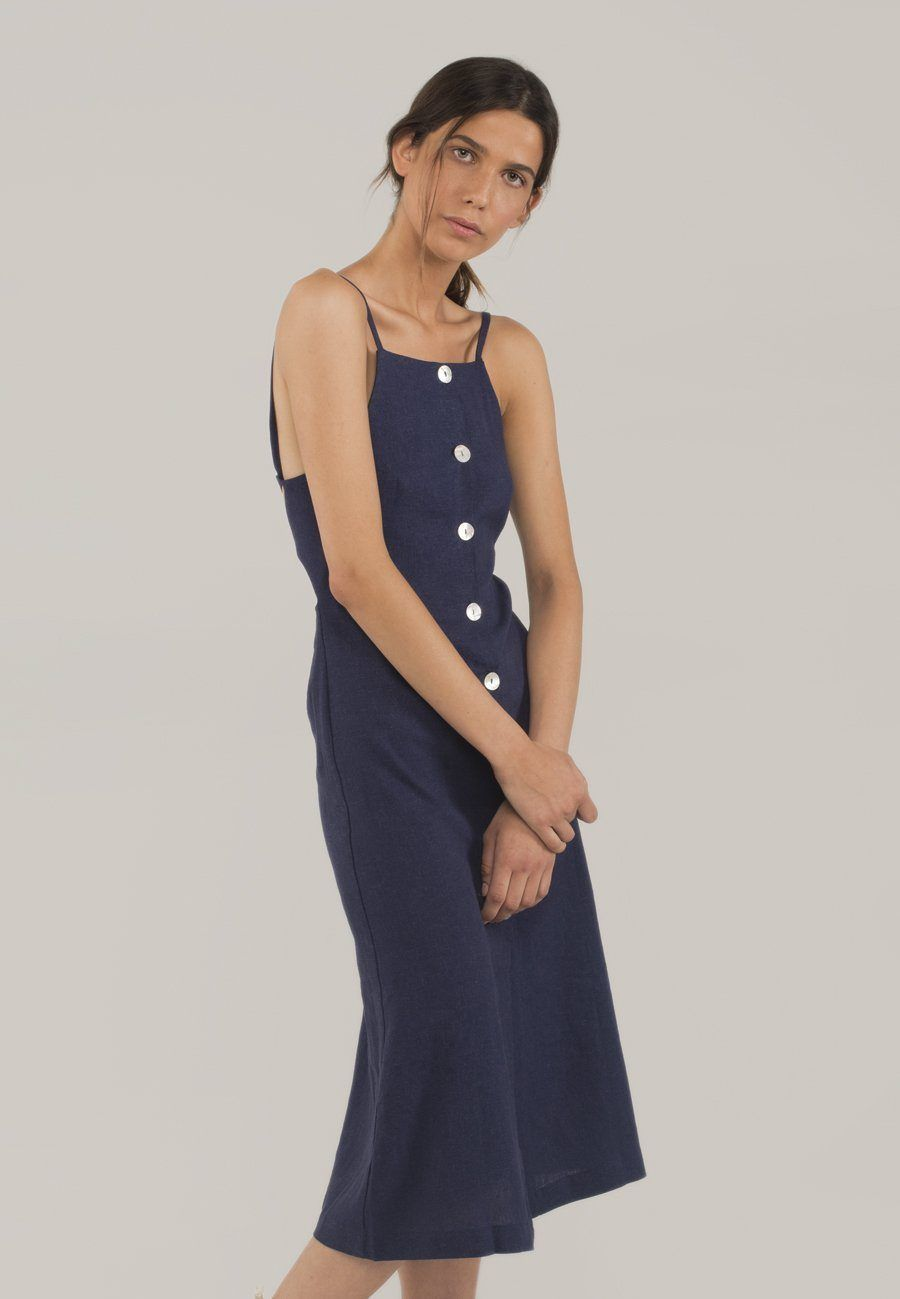 Nanny Dress Navy