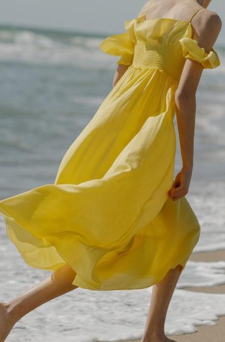SIESTA DRESS YELLOW
