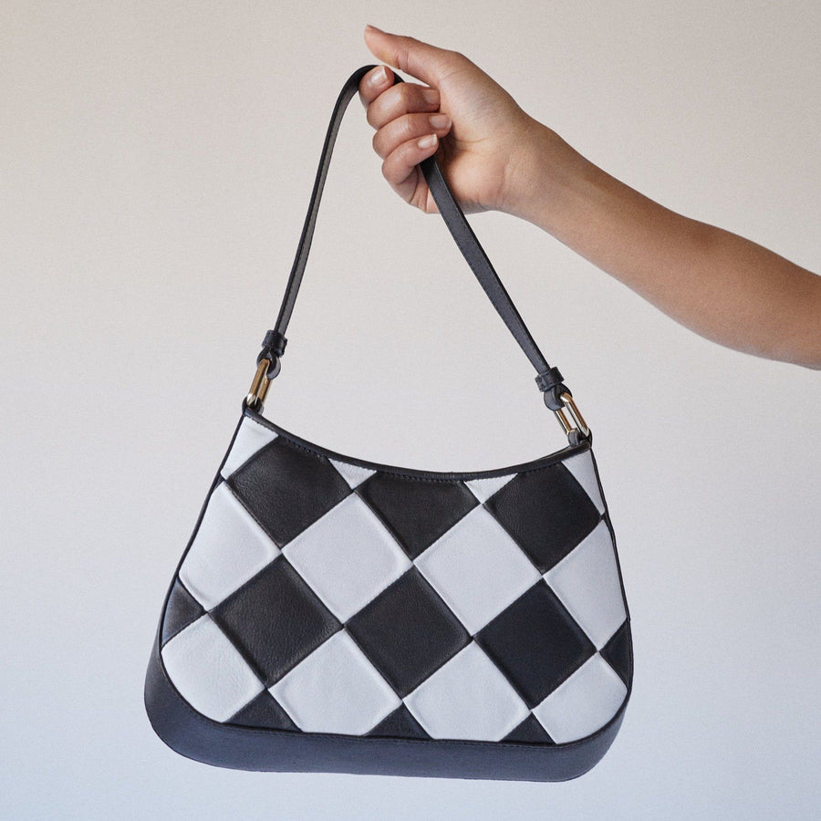 The C Scacchi Black & White Bag