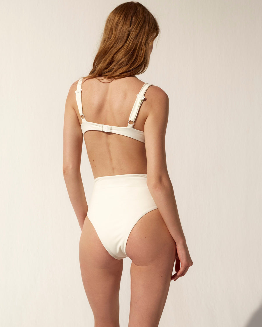 The Cylinder Bikini Bottom Ivory