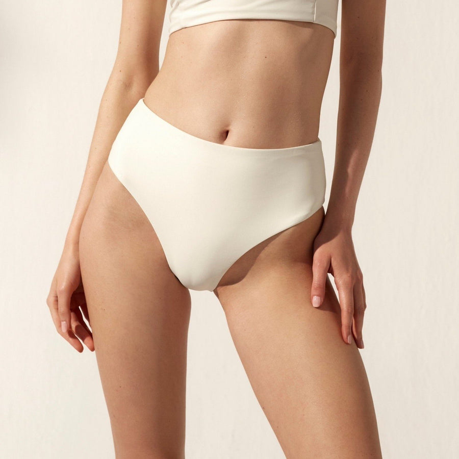 The Pentagon Bikini Bottom High Ivory