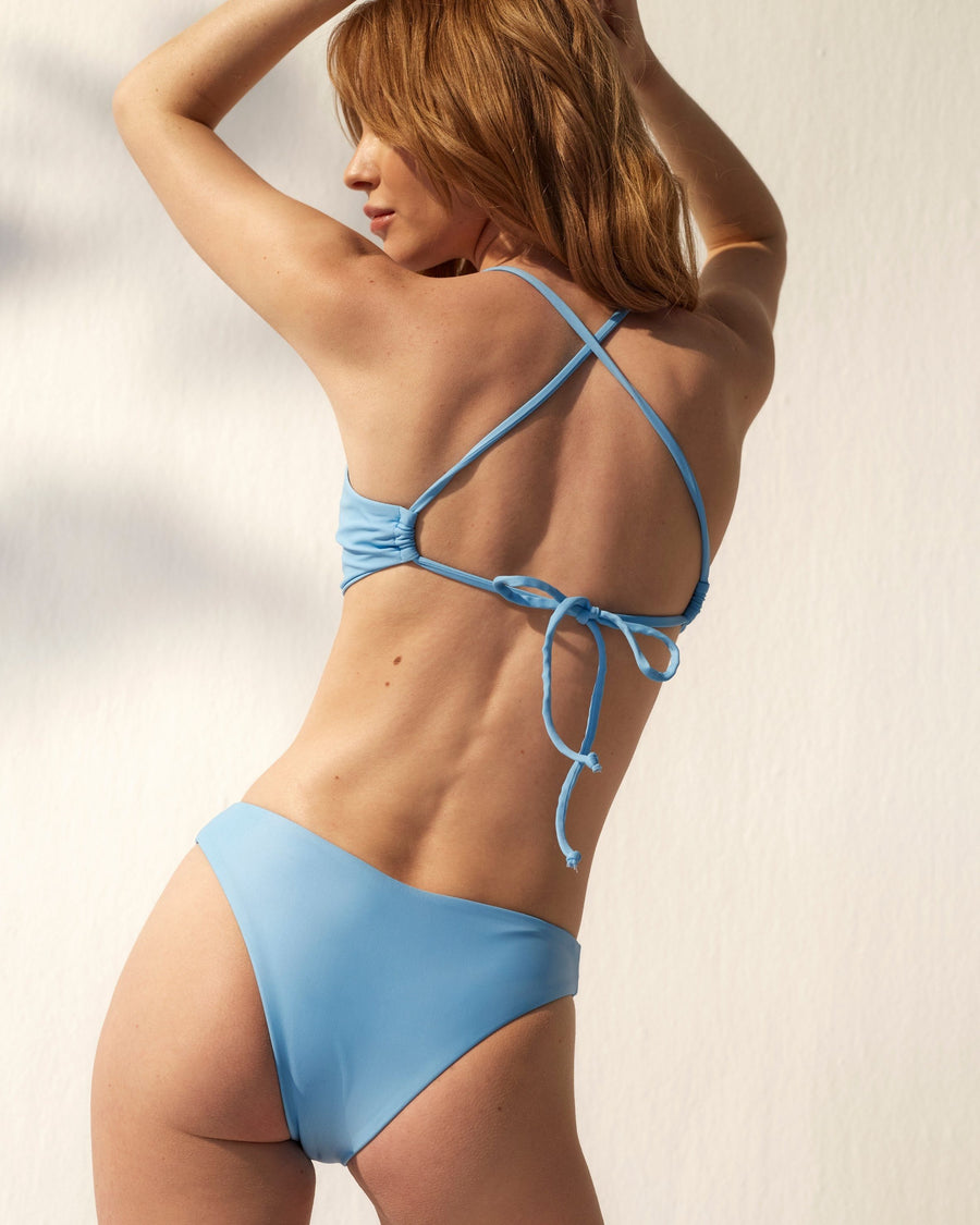 The Triangle Bikini Top Cornflower Blue
