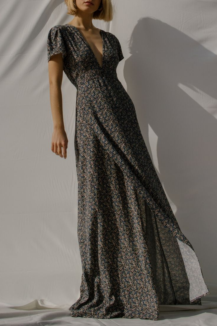 Tournesol Floral Maxi Dress