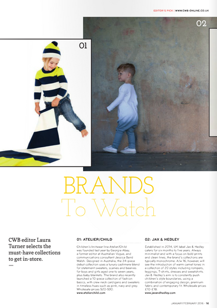 Childrens Wear Buyer Magazine