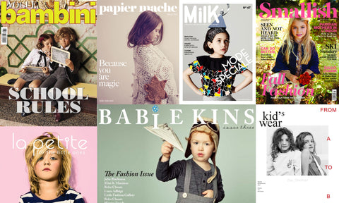 Our Favourite... Kids Fashion Magazines (Print)