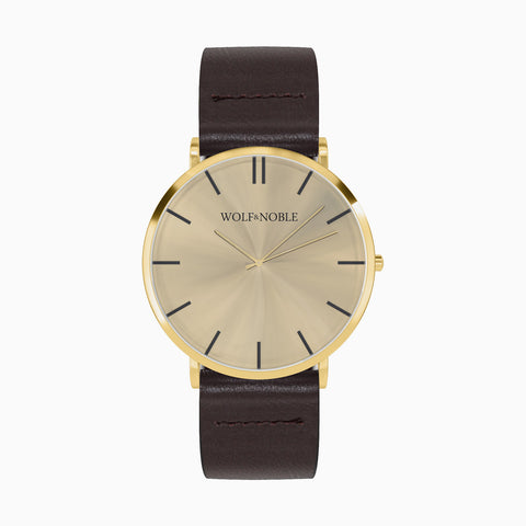 New Richmond All Gold, Brown Strap