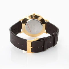 New Richmond Gold, Black, Brown Strap
