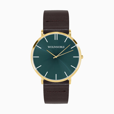 New Richmond Gold, Green, Brown Strap