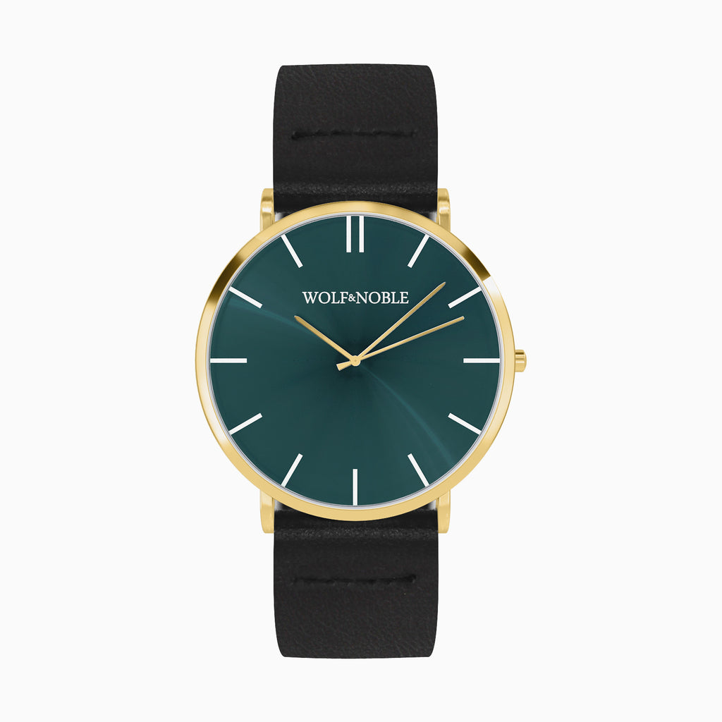 New Richmond Gold, Green, Black Strap