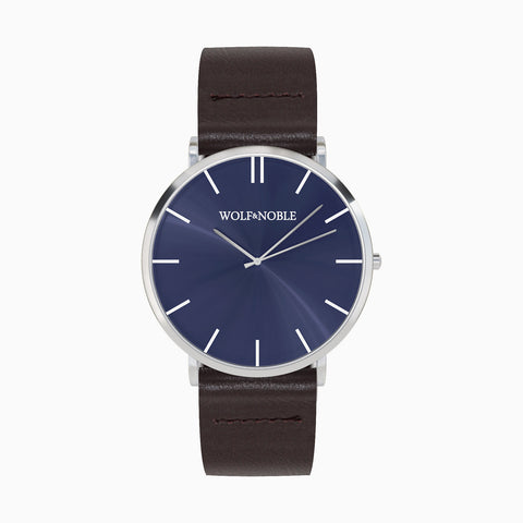 New Richmond Blue Edition, Brown Strap