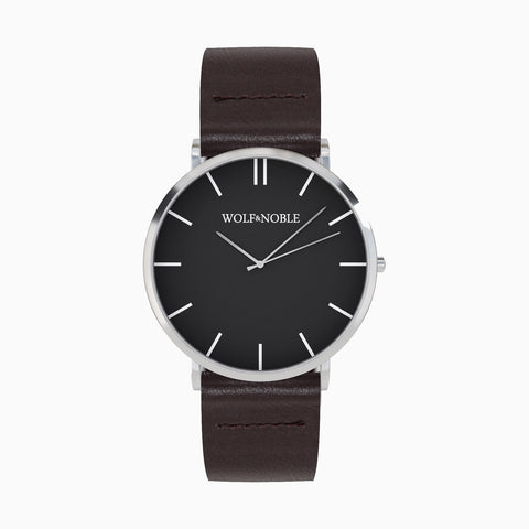 New Richmond Black, Brown Strap