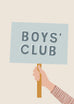 'Boys' Club' Children's Print