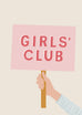 'Girls' Club' Children's Print