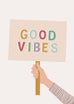 'Good Vibes' Children's Print