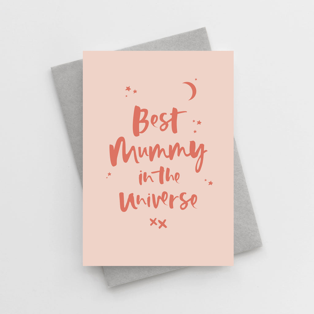 'Best Mummy in the Universe' Mother's Day Card
