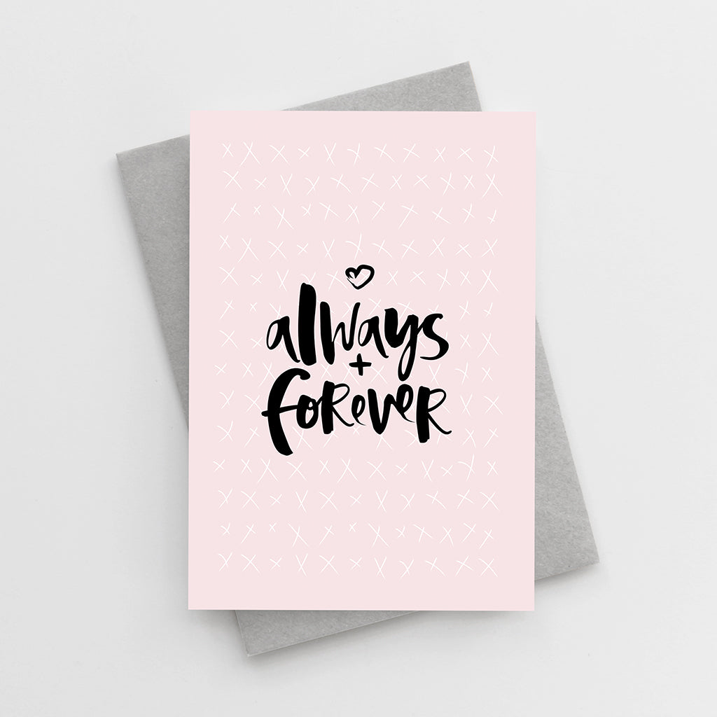 'Always + Forever' Card