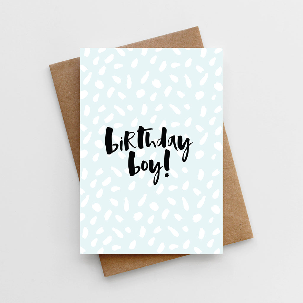 'Birthday Boy' Card