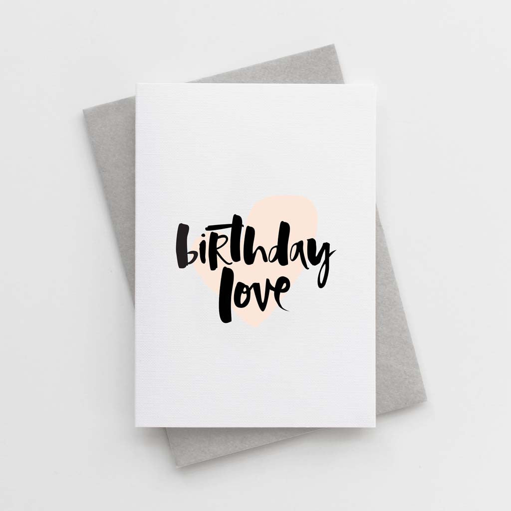 'Birthday Love' Card
